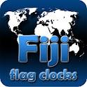 Fiji flag clocks