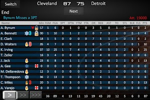 Screenshot of Basketball Dynasty Manager 14