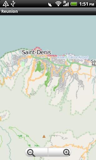 Reunion Street Map