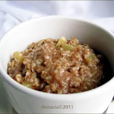 Apple and Spice Porridge