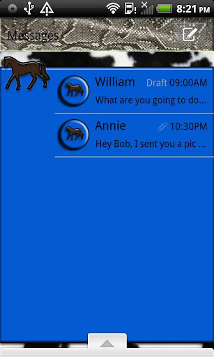 GO SMS THEME ForUCowboy