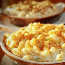 Macaroni and Cheese With Garlic Breadcrumbs, Plain and Chipotle