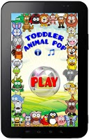 Screenshot of Toddler Animal Pop
