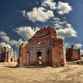 Wilderness ! by Agha Ahmed - Buildings & Architecture Decaying & Abandoned ( pakistan, building, desert, historical, architecture, landscape )