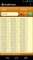 Screenshot of Scrabble Expert