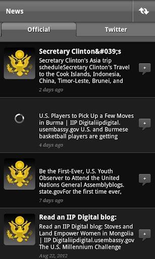 【免費新聞App】State Department EAP Media Hub-APP點子