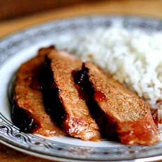Grilled Pork Tenderloin with Orange Marmalade Glaze