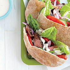 Greek-Seasoned Steak Sandwiches