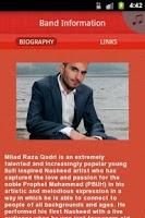 Screenshot of Milad Raza Qadri
