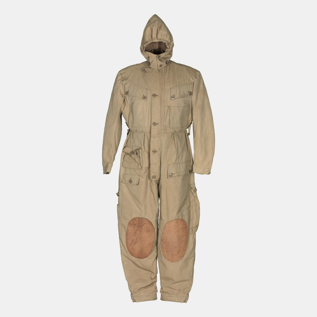 Protective suit worn by a member of the Combined Operations Pilotage Parties