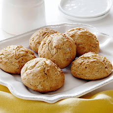 Honeyed Whole-Grain Drop Biscuits