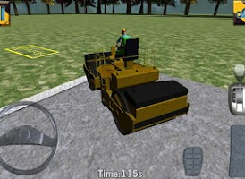 Screenshot of Road Roller Parking Extended