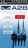 Screenshot of A2B UID Tracker