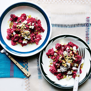 Beets With Goat Cheese And Pistachios Recipes