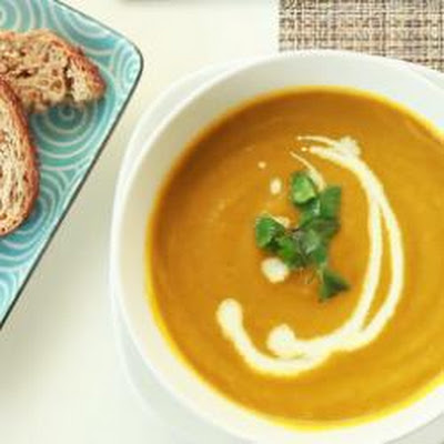 Carrot And Fresh Coriander Soup