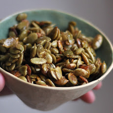 Ginger orange pumpkin seeds