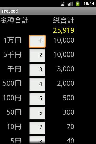 金種合計計算