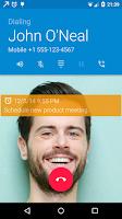 Screenshot of Call Actions