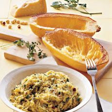Roasted Spaghetti Squash with Herbs
