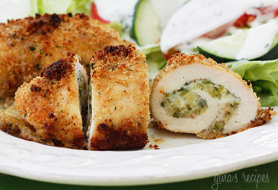 Chicken Rollatini Stuffed with Zucchini and Mozzarella Recipe | Yummly
