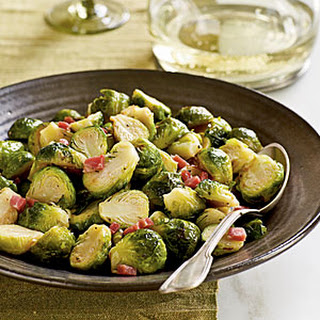 Brussels Sprouts with Pancetta