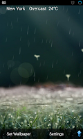 Screenshot of 3D Weather Live Wallpaper