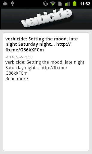 Verbicide Magazine