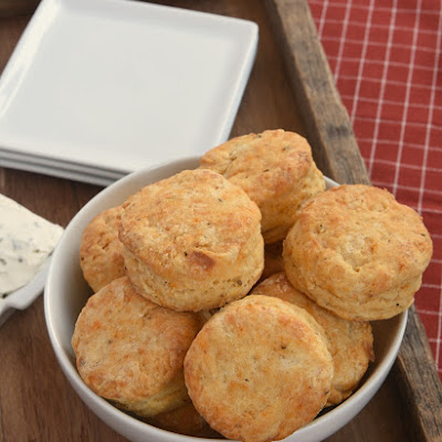 Savory Cream Cheese Biscuits