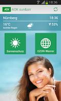 Screenshot of AOK Sun&Air