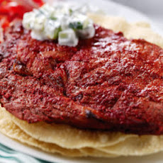 Tandoori Rib-eye Steaks
