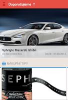 Screenshot of SHOPIN (dříve Nákupní centra)