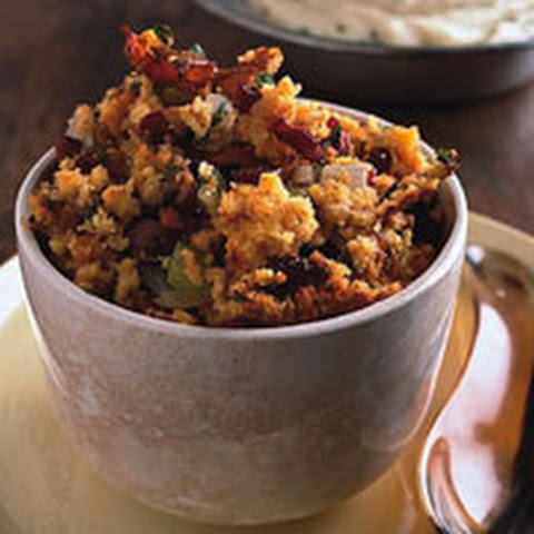 Toasted Cornbread, Bacon and Chestnut Stuffing