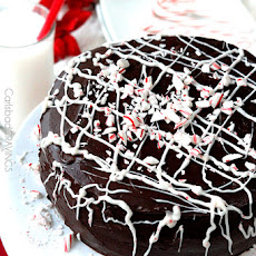 Peppermint Chocolate Cake