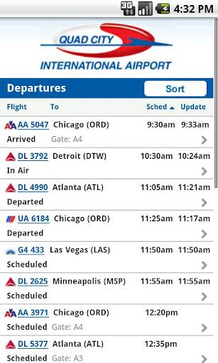 QC Airport Mobile App MLI