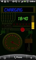 Screenshot of Gadget Battery Wallpaper