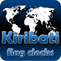 Kiribati flag clocks icon