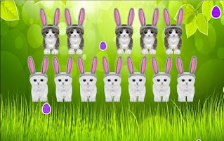 Screenshot of 3D Singing Bunny Kitten Piano
