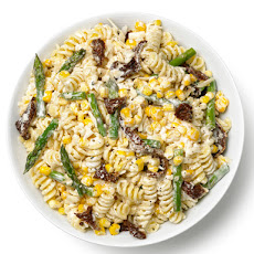 Pasta Salad With Asparagus, Corn and Sun-Dried Tomatoes