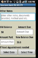 Screenshot of Insurance Agent ON GO