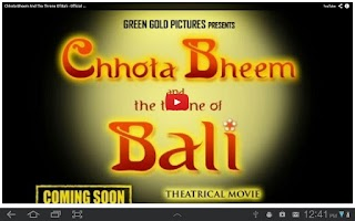 Screenshot of Chhota Bheem Official Videos