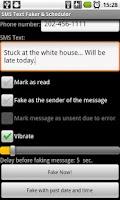 Screenshot of Fake-a-Text Lite