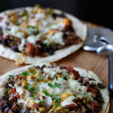BUSH'S Mexican Black Bean Pizza