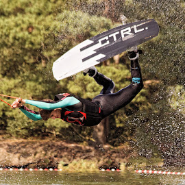Lift Off by John Phielix - Sports & Fitness Watersports ( water, wakeboard, sports, fun, man,  )