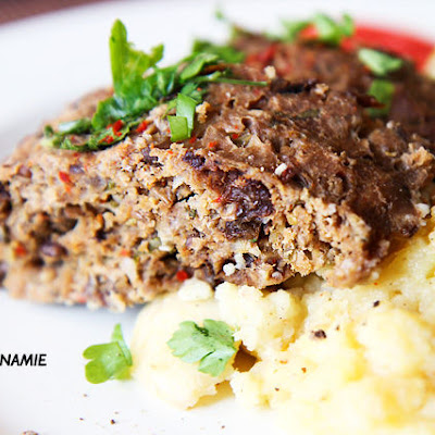 African Spicy Nutty Fruity Meatloaf