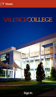 Screenshot of Valencia College