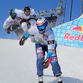 Up and Over by Erin Dybedahl - Sports & Fitness Other Sports ( extreme sports, downhill skating, @redbullmsp, red bull, #crashedice )