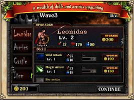 Screenshot of Spartans vs Zombies defense HD
