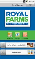 Screenshot of Royal Farms
