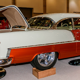 Old Car's  by Gene Flegal - Transportation Automobiles ( drag racing, old, antique, tire's )