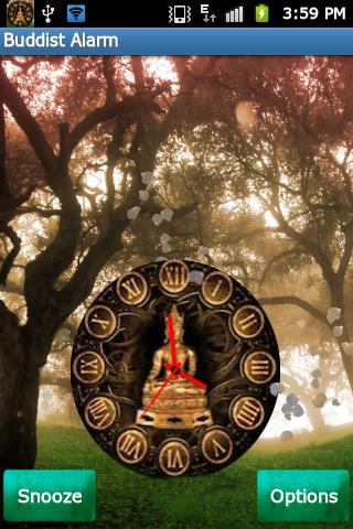 仏教の目覚まし時計